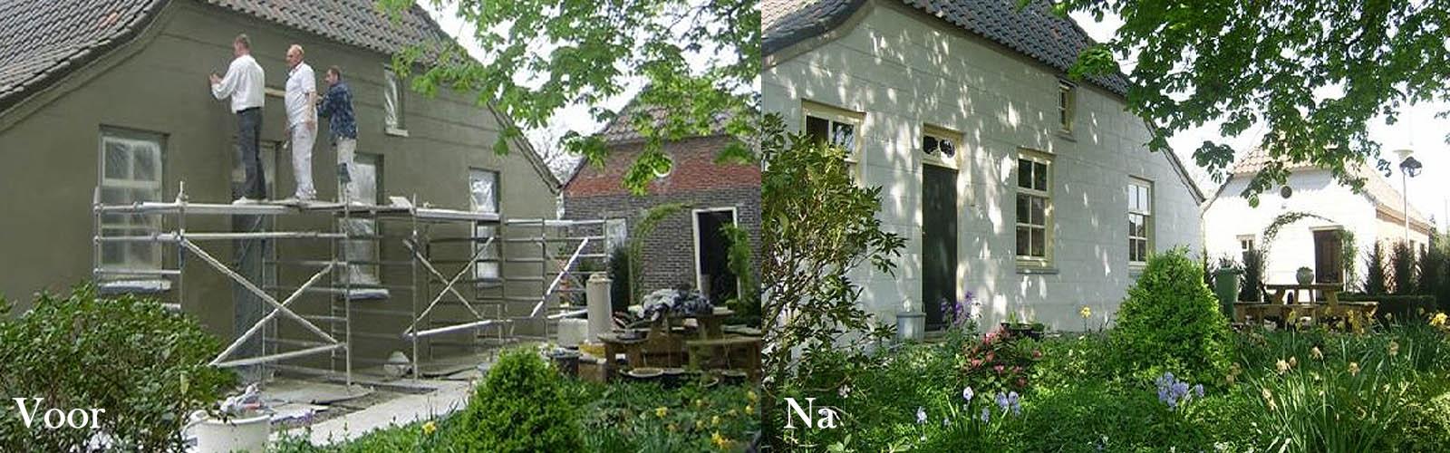 Buitengevelstukwerk-Stukadoor Ad van Weert Sint-Oedenrode